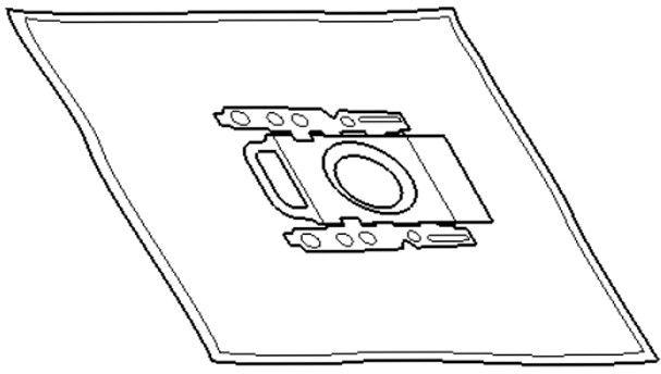 Worki papierowe do odkurzacza 5szt NeoProfi