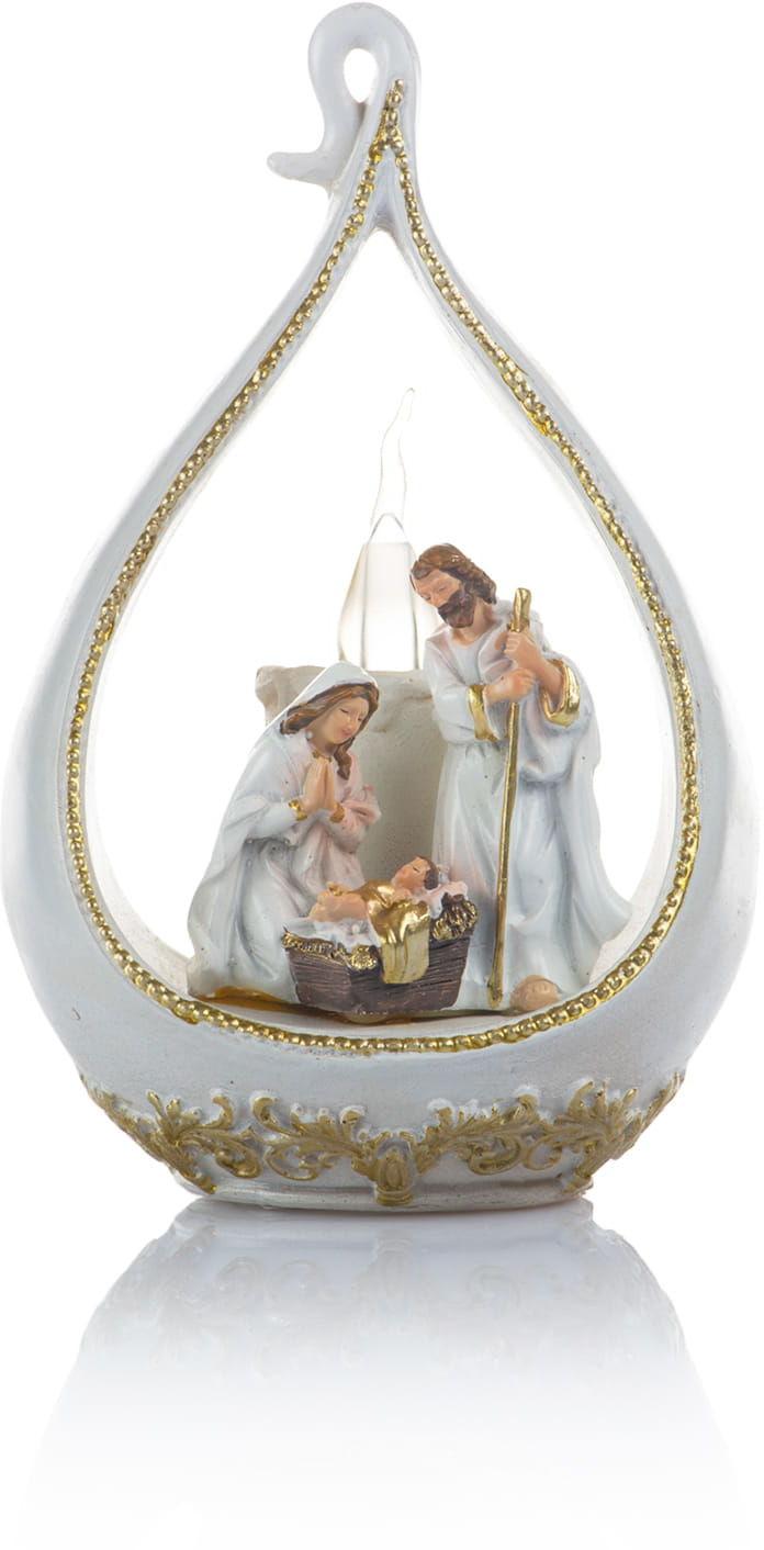 Figurka ze Świętą Rodziną, LED
