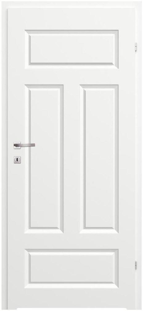 Skrzydło drzwiowe MORANO I Białe 80 Prawe CLASSEN