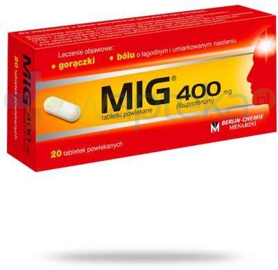 MIG 400mg 20 tabletek