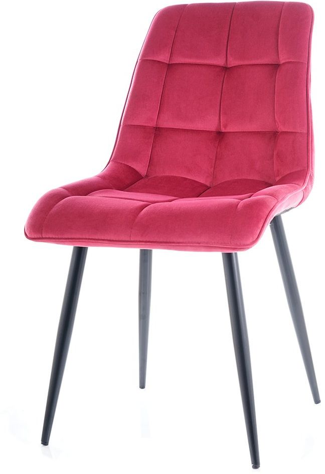 Krzesło CHIC VELVET bordowe  Kupuj w Sprawdzonych sklepach
