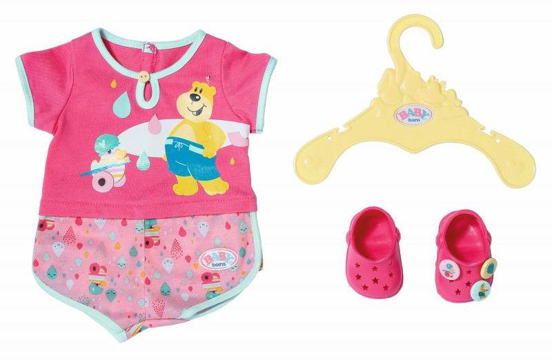 BABY Born - Piżamka z bucikami w komplecie 827437