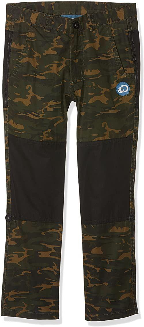 Craghoppers Dziecięce spodnie Da Camo Cargo Dark Moss Combo Size 5-6