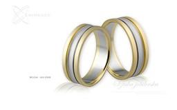 Obrączki ślubne - wzór Au-098