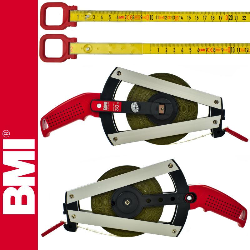 Taśma powlekana poliamidem 30m ISOLAN ERGOLINE BMI