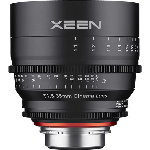 Samyang Rokinon Xeen 35mm T1.5 - obiektyw do Sony E Samyang obiektyw kinematograficzny