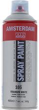 Talens Amsterdam Acryl Farba 400ml 105 White Spray