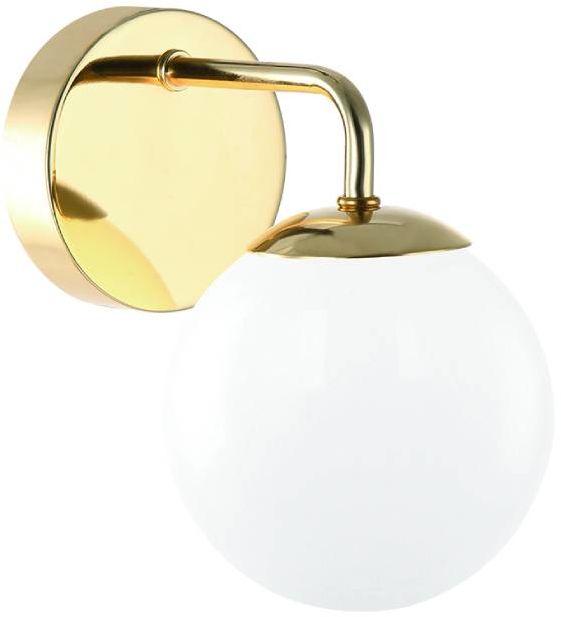 Kinkiet Bao Parette Gold IP44 Orlicki Design złota oprawa w stylu nowoczesnym