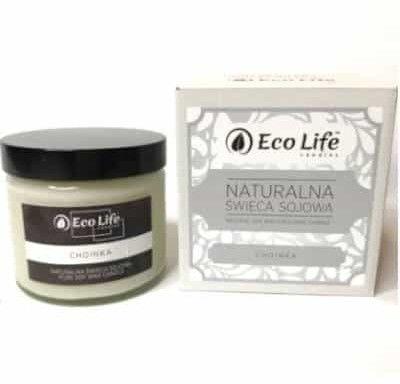 """Naturalna świeca sojowa zapachowa """"Choinka"""" 450g Eco Life"""