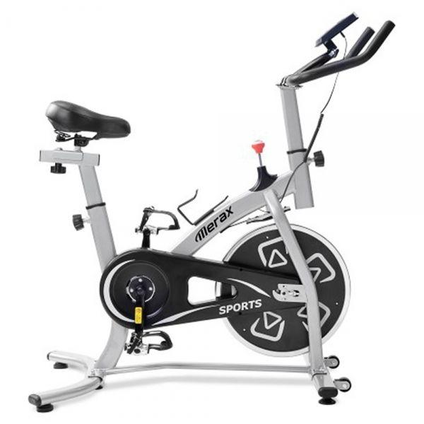 Wewnętrzny rower treningowy Merax - czarny i biały