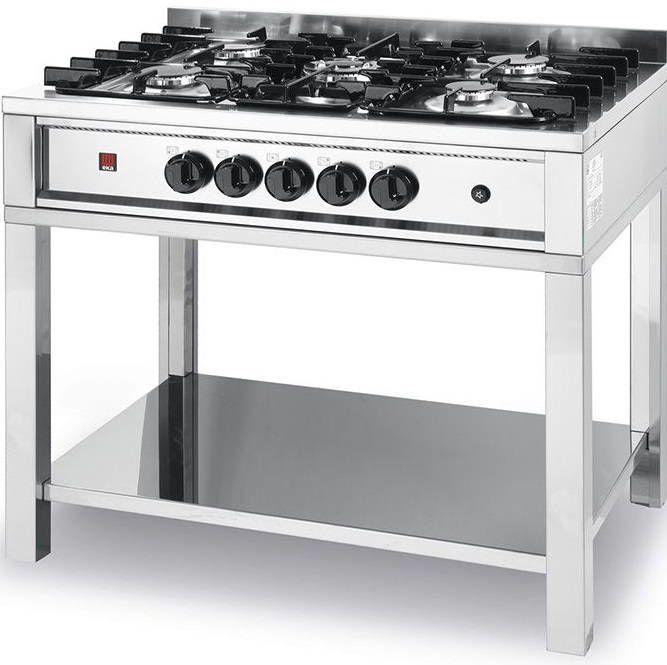 Hendi Kuchnia gazowa 5 palników 14300W - kod 225806