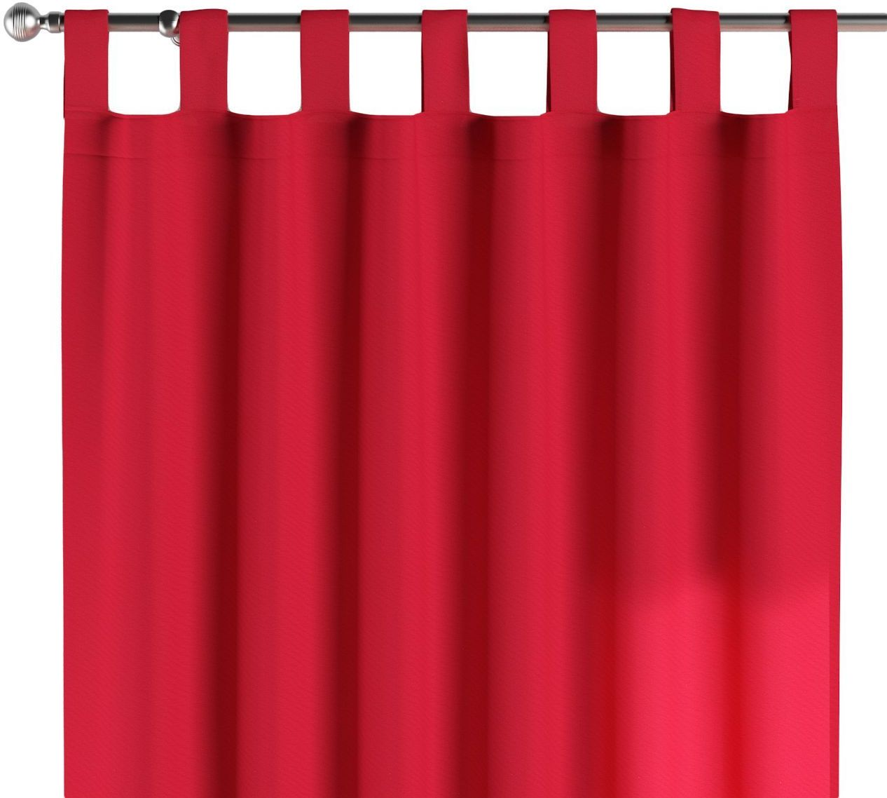 Zasłona na szelkach 1 szt., czerwony, 1szt 130  260 cm, Quadro