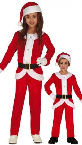 Strój Mikołaj lub Mikołajka