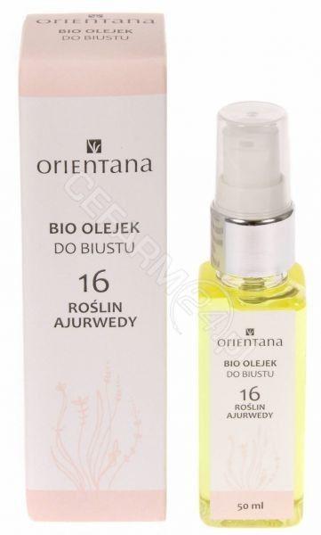 Orientana Bust Body Oil Bio olejek do biustu - 16 roślin ajurwedy 50 ml