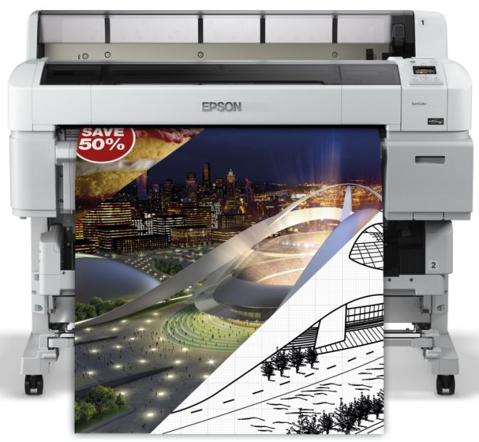 "Ploter EPSON SureColor SC-T5200 36"" (C11CD67301A0)"