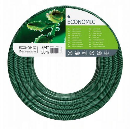 """Wąż ogrodowy Economic 3/4"""" 50m 3-warstwowy CELLFAST 10-022"""