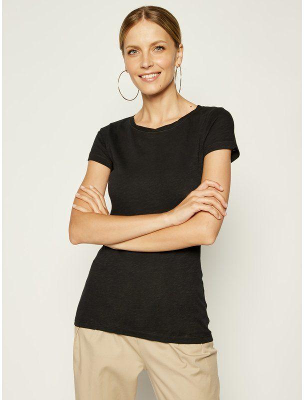 Marc O''Polo T-Shirt B01 2261 51115 Czarny Slim Fit