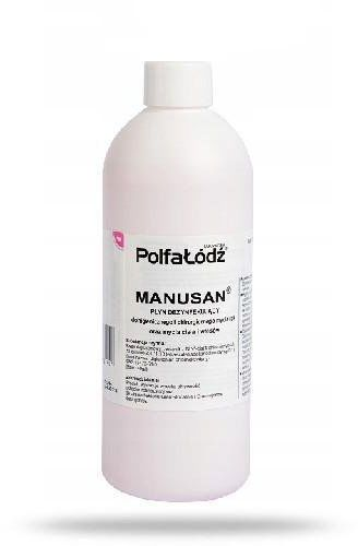 Manusan płyn dezynfekujący bez dozownika 500 ml
