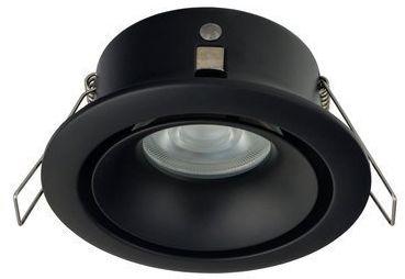 Oczko wpuszczane FOXTROT black GU10 IP54 do łazienki