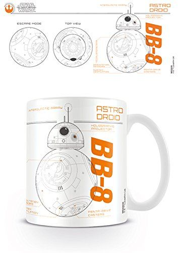 Star Wars Filiżanki do kawy, wielokolorowe