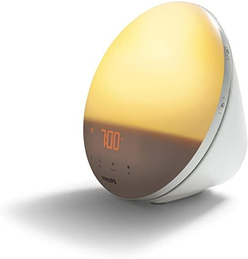 Philips Wake-Up Light Budzik, 16.5 W, Biały