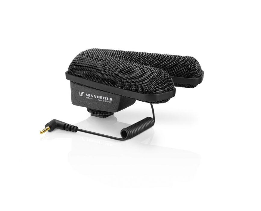 Sennheiser MKE 440 - mikrofon stereo do kamer / lustrzanek DSLR Mikrofon stereo nakamerowy
