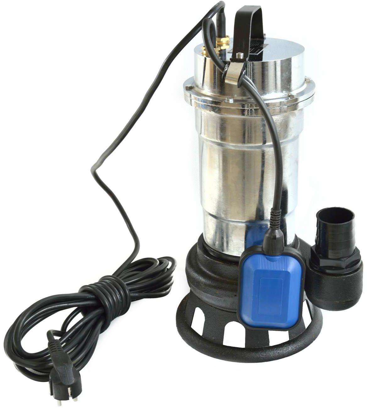 Pompa rozdrabniacz WQD10-8-0.55 nikiel z pływakiem do brudnej wody (G81428)