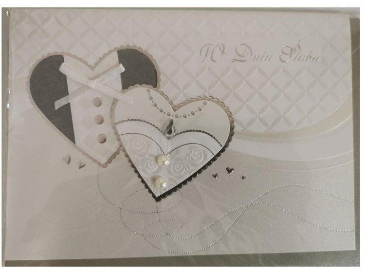 Karnet ślubny B6 Premium 36 + koperta