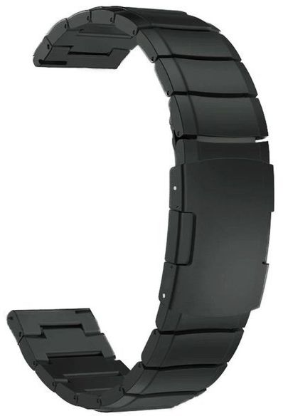 Bransoleta Steel Simple do Huawei Watch GT 2 42mm/ gear s2 czarna 20mm