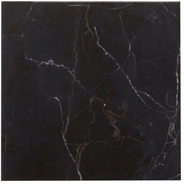 Płytka podłogowa Elegance Marble Colours 45 x 45 cm black 1,42 m2