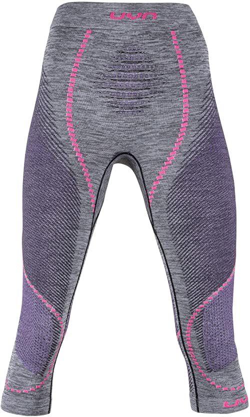 UYN damskie kalesony Uyn Lady Ambityon Uw Pants Medium Melange czarny Black Melange/Purple/Raspberry L-XL