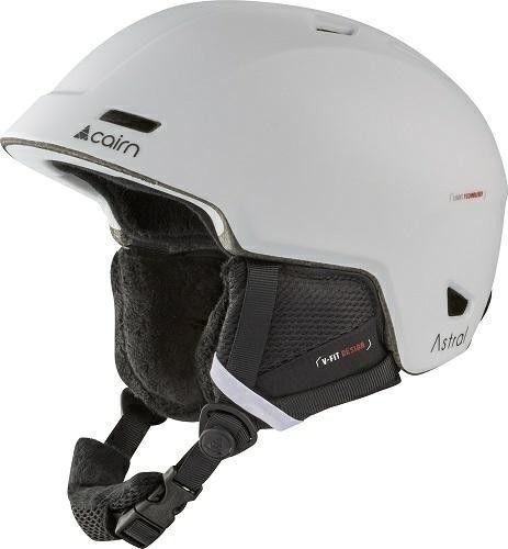 CAIRN kask zimowy narciarski/snowboardowy ASTRAL biały mat Rozmiar: 55-56,060614001
