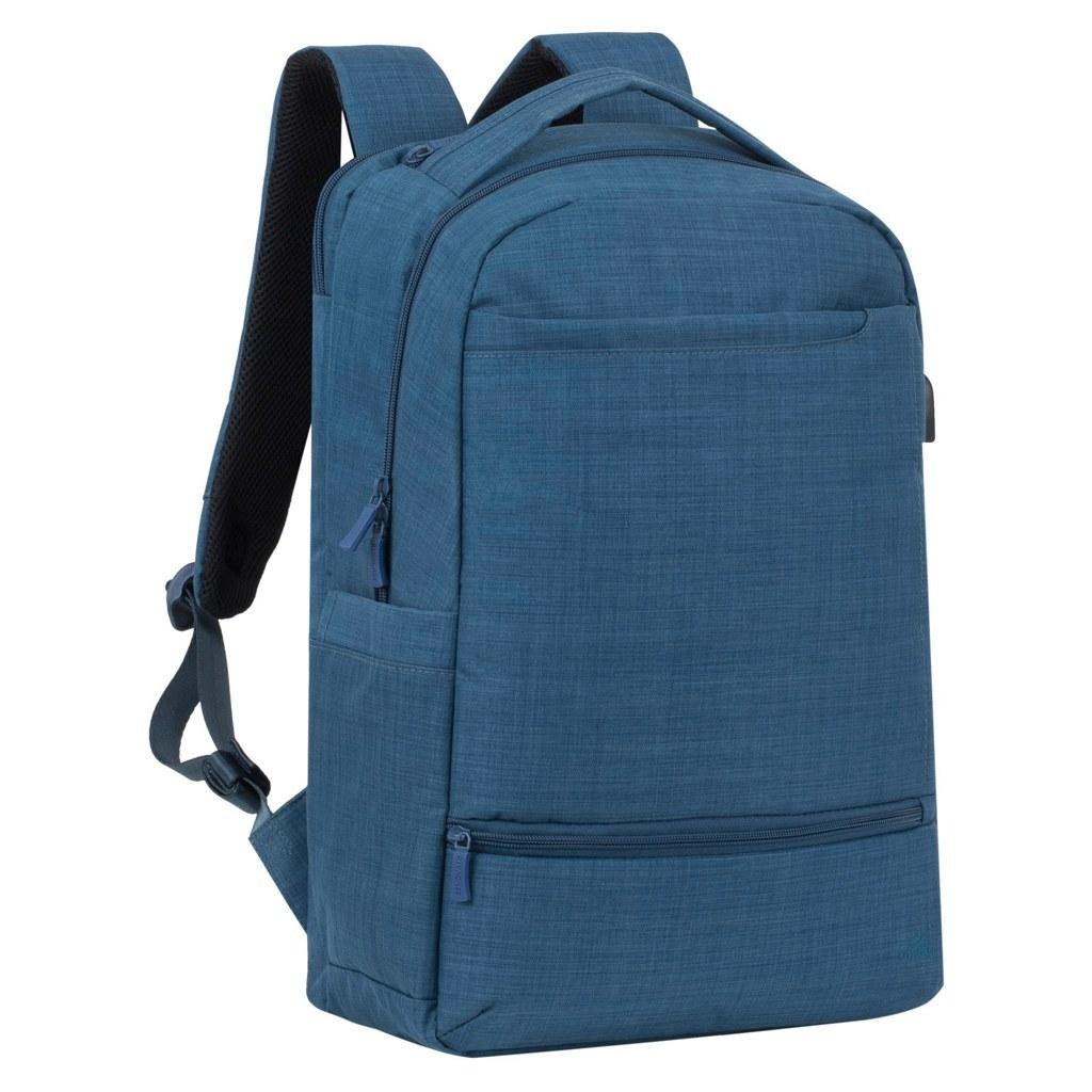 Plecak na laptop 17,3 cala Rivacase Biscayne 8365 niebieski