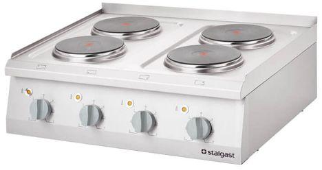 Kuchnia Elektryczna Nastawna 4-Polowa 10,4 kW 400 V