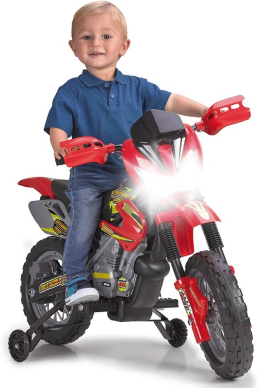 Feber Motocykl Cross na akumulator 6V dla Dzieci LK
