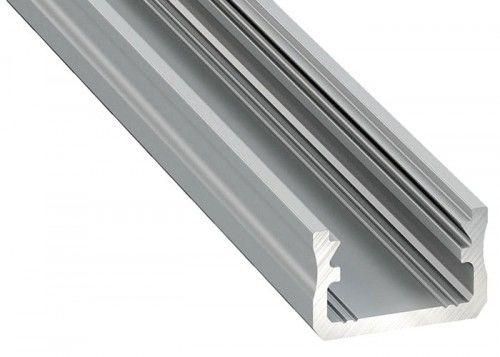 PROFIL typ A 2m srebrny anodowany nawierzchniowy