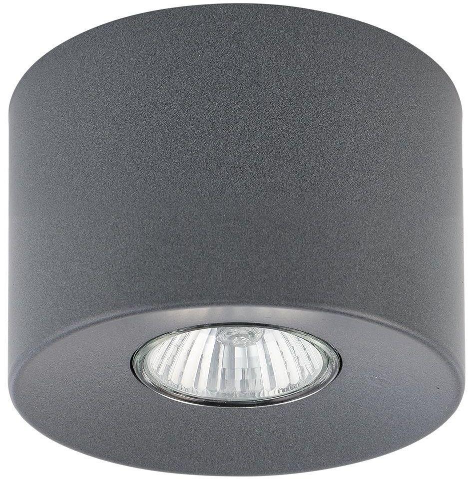 Orion lampa sufitowa 1 punktowa grafitowa 3235 - TK Lighting // Rabaty w koszyku i darmowa dostawa od 299zł !