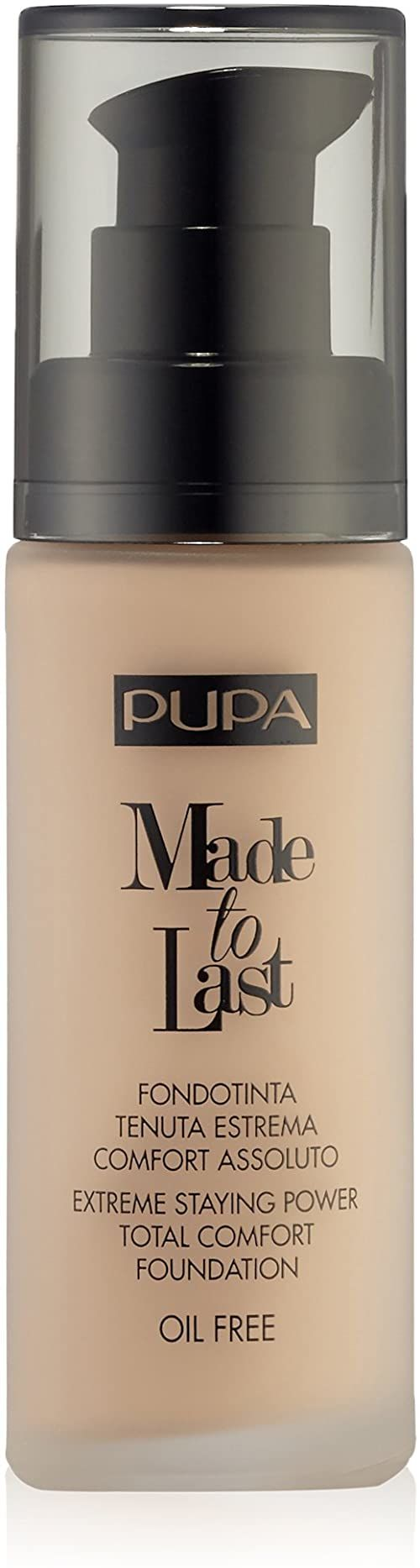 Pupa Made To Last Foundation 030 Natural Beige
