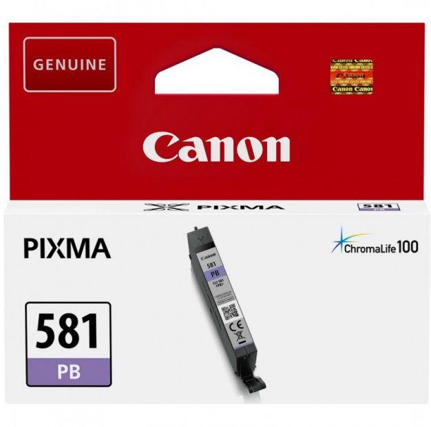 Tusz CANON CLI-581PB - niebieski fotograficzny (5,6 ml) (2107C001)