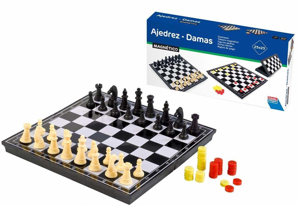 Falomir Set Schach, Dama i Backgammon (27905)