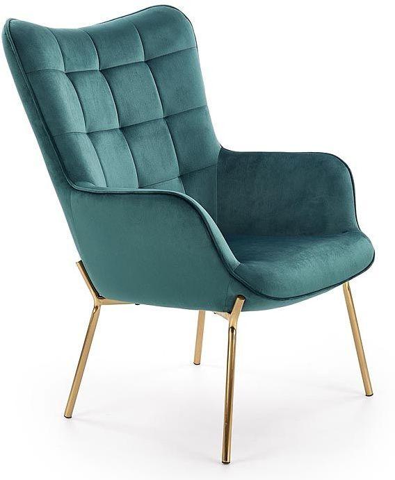 Fotel wypoczynkowy Zefir 3X - ciemna zieleń
