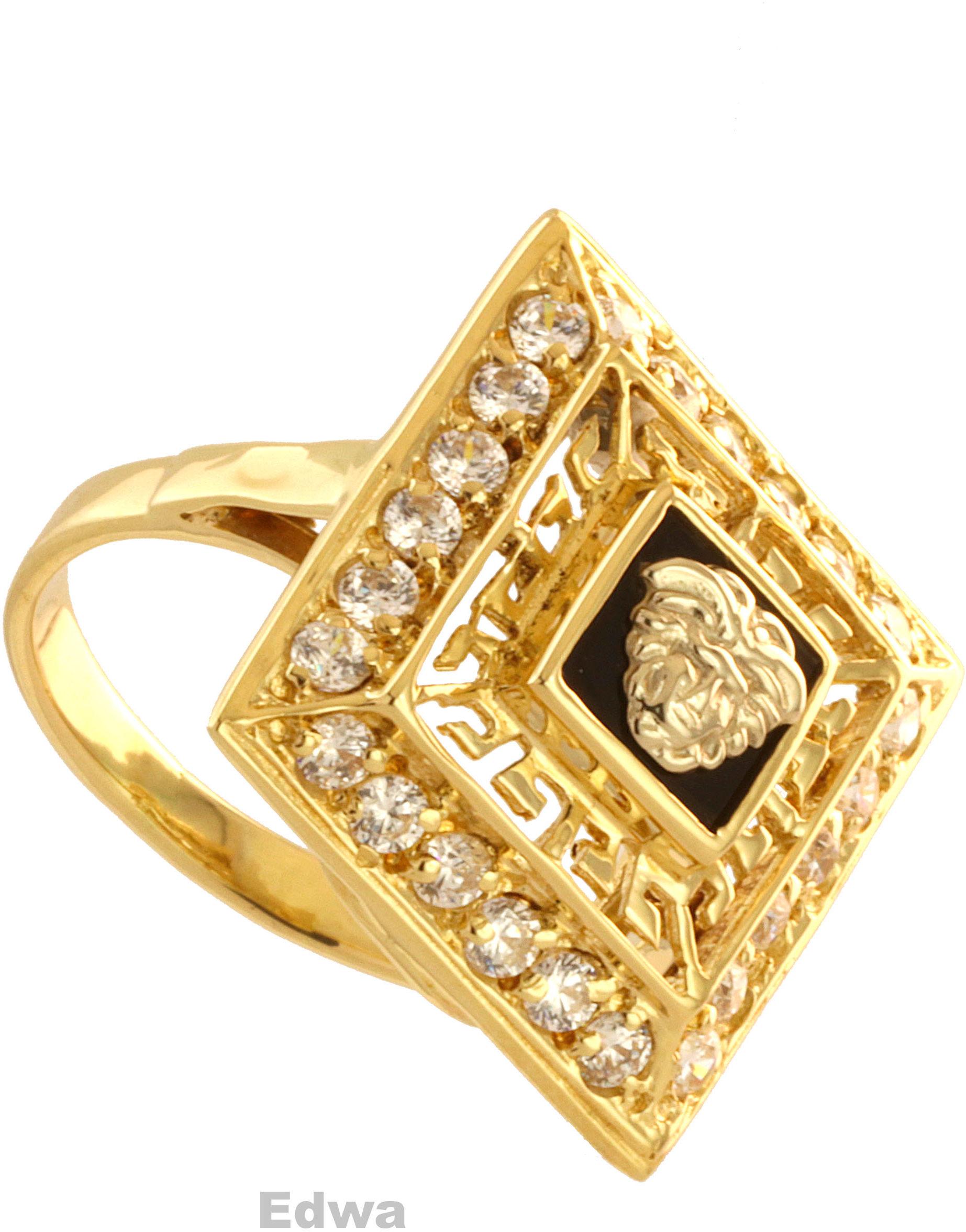 Pierścionek złoty pr.585 roz.14