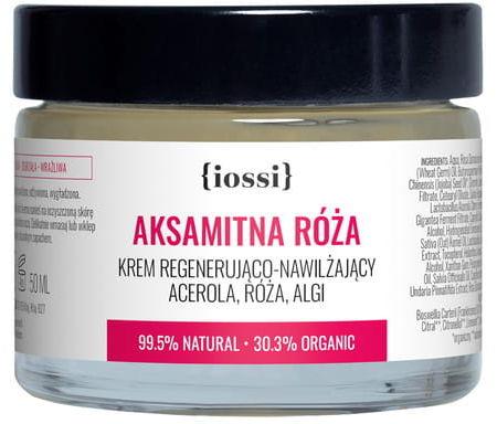 Iossi Aksamitna Róża, Regenerująco Nawilżający Krem Z Acerolą, Różą I Algami 50ml