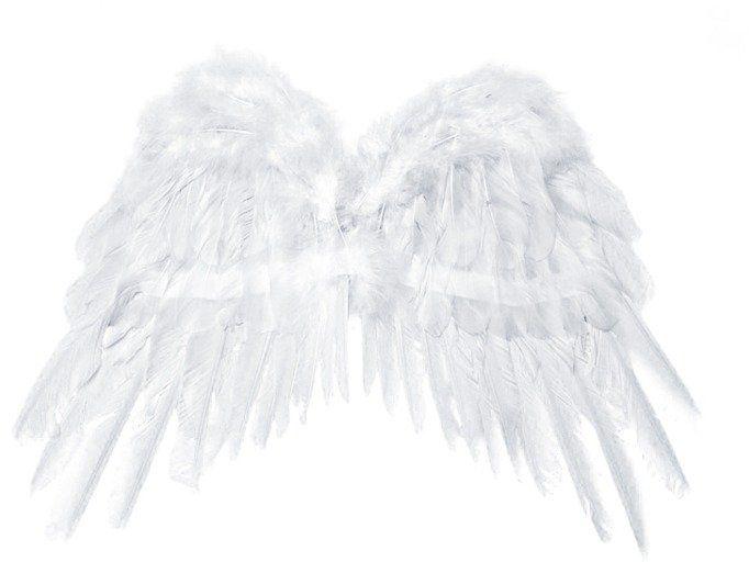 Skrzydła Anioła białe 53x37cm 1szt sk1-008