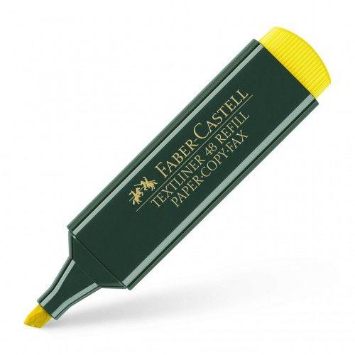 Zakreślacz FABER CASTELL Textliner 48 żółty 154807