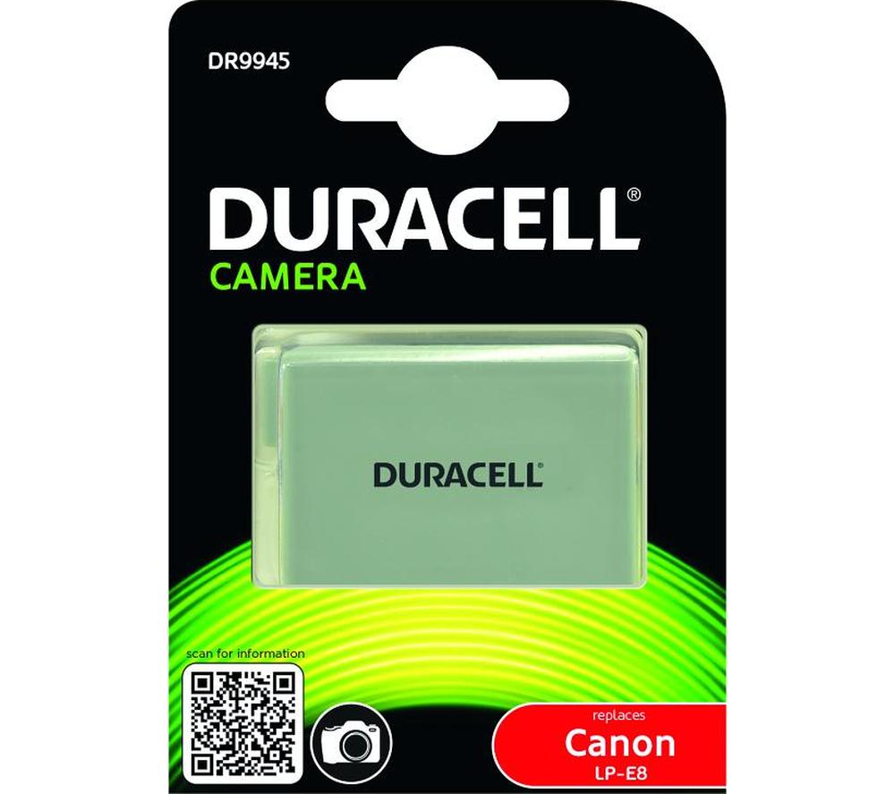 Duracell DR9945 - akumulator / zamiennik LP-E8 do Canon / 1020mAh Duracell DR9945
