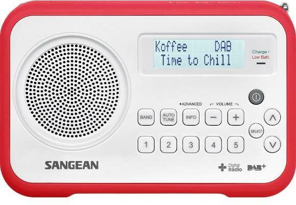 Sangean TRAVELLER 670 DPR-67 (biało-czerwony) - 43,90 zł miesięcznie