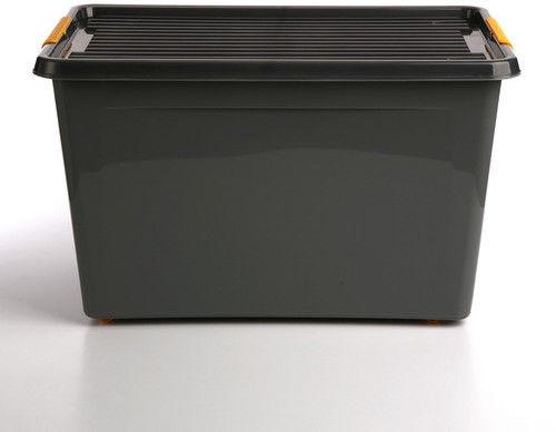 Pojemnik do przechowywania zamykany 390x350x580mm 60,0l ORPLAST SOLIDSTORE BOX szary 1 szt /OR-1732/