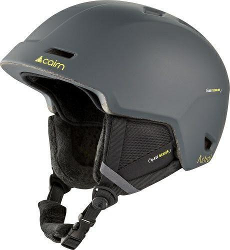 CAIRN kask zimowy narciarski/snowboardowy ASTRAL szary Rozmiar: 61-62,0606140153