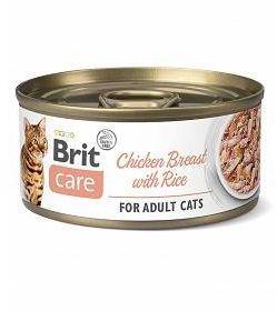 Brit Care Cat CF Chicken Breast&Rice 70G - Pierś Kurczaka z Ryżem